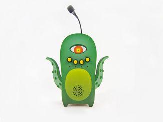 萌翻了!用Intel Edison打造的学舌小绿人