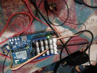 用Intel Edison自制简单好用的数码锁