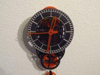 3D打印的机械钟表,误差仅0.25秒/小时