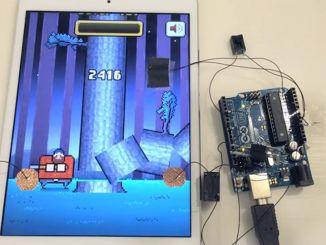 Arduino实现《疯狂伐木工人》外挂,根本停不下来