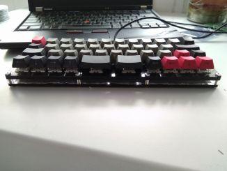Arduino+亚克力+飞线自制机械键盘