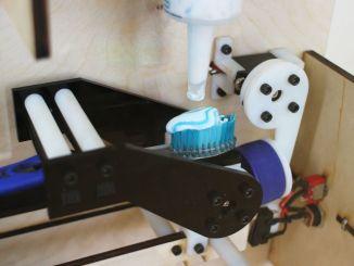 Intel Edison全自动挤牙膏机帮你挤出时间!