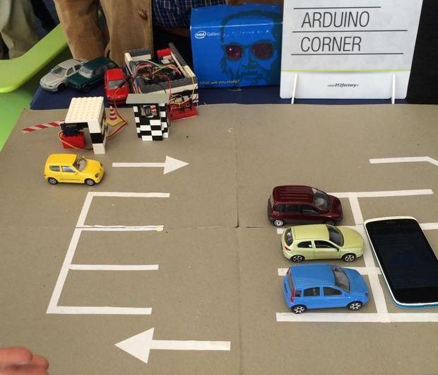 用Intel Galileo建造自动停车场