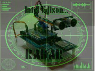 战争装备:用Intel Edison自制超声波雷达