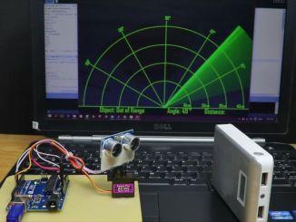 用 Arduino 自制超声波雷达