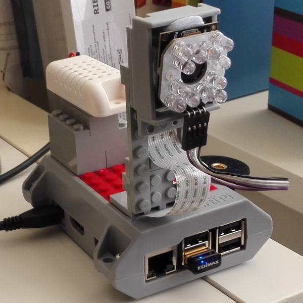 使用树莓派构建一个婴儿监视器