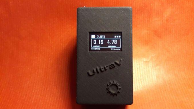 用 Arduino DIY便携式紫外线指数仪