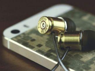 真枪实弹打造一副个性十足的子弹壳耳机