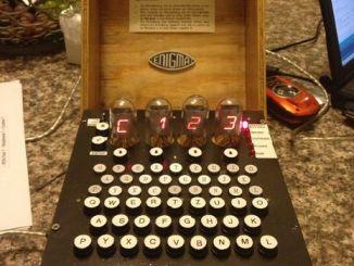 自己打造一台恩尼格码密码机