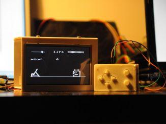 用 Arduino DIY 70后的复古游戏机