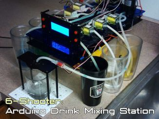 用 Arduino DIY 自动调酒机