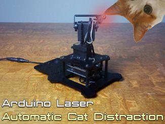 用 Arduino DIY 镭射激光逗猫神器