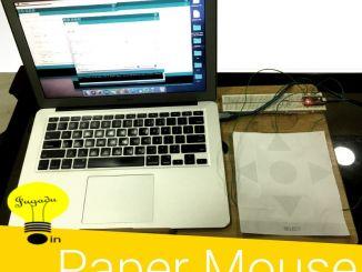 神奇Arduino系列:用A4纸自制一款手势鼠标
