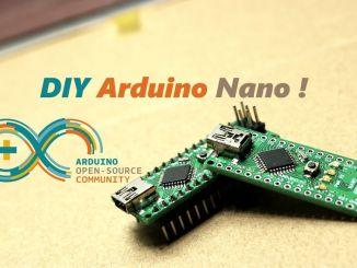 """手把手带你""""生产"""" Arduino Nano"""