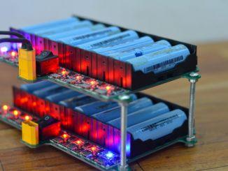 自制可充电的18650锂电池组