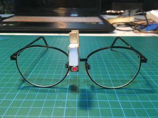 趣手工:带激光指示的眼镜