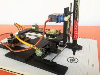Arduino + 光驱改造数控绘图机