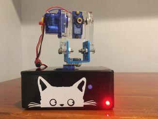 LaserKitty:ESP8266 制造的激光逗猫神器