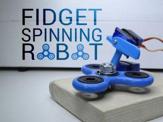 Arduino+舵机制造指尖陀螺机器人