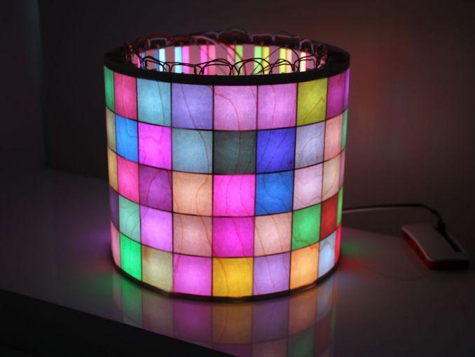 用树莓派或 Arduino 制造 LED 矩阵彩灯