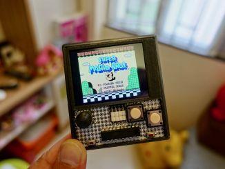 用 ESP32 开发板 DIY NES 掌机