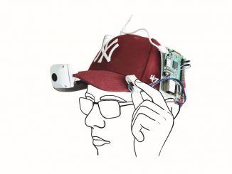 树莓派+帽子=可穿戴视频记录仪