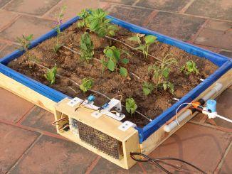 树莓派驱动的物联网滴灌系统