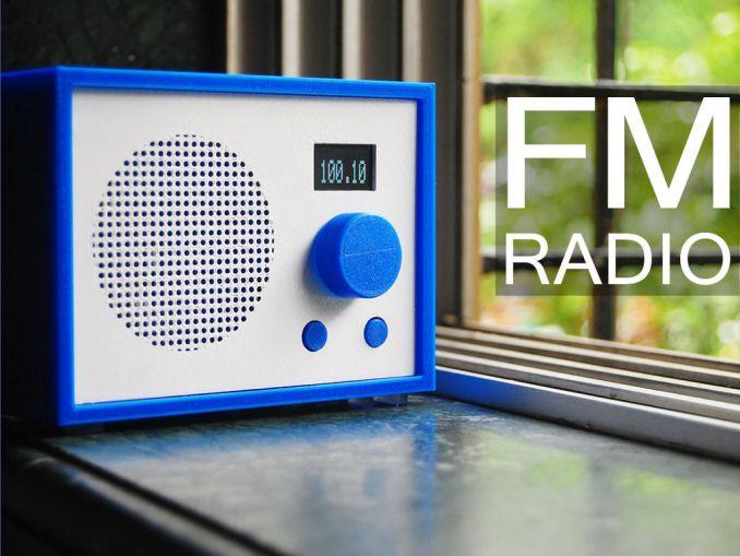 用 Arduino 制造一台 FM 调频收音机