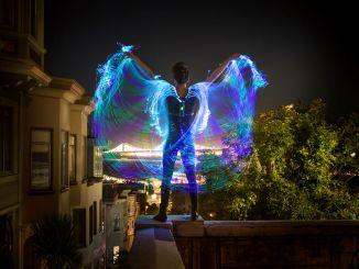 手工向:炫彩光纤羽翼制造全纪录