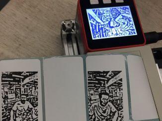 M5Stack + 热敏打印机 DIY 拍立得