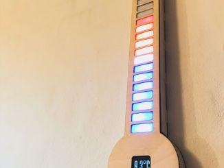 基于树莓派的 LED 数字温度计
