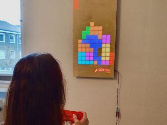 用树莓派制造木制 LED 游戏显示器