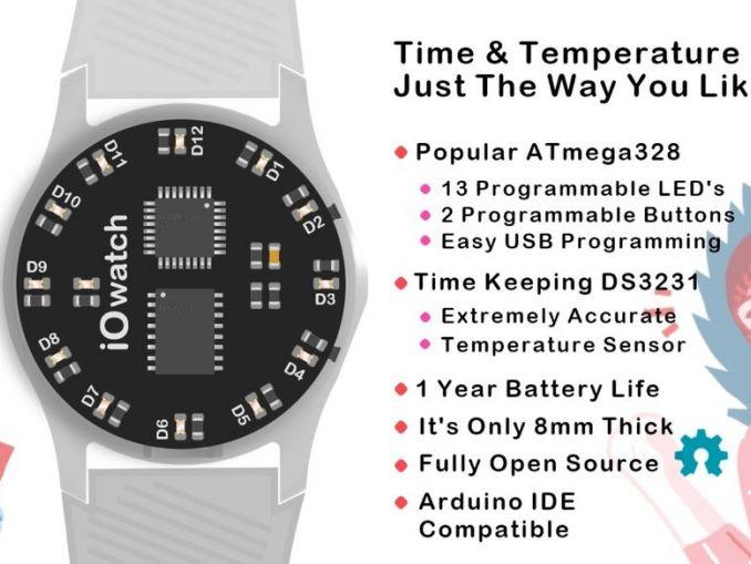 IO Watch:用 Arduino UNO 制造的可编程手表