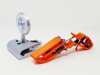 3D 打印的激光枪靶套件,biubiubiu……