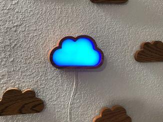 一朵预报天气的云,基于树莓派+3D打印
