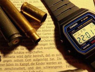 DIY 卡西欧 CASIO F-91W 手(挂)表(钟)