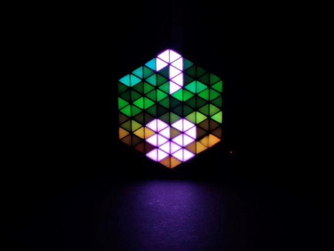 RGB HexMatrix 物联网时钟