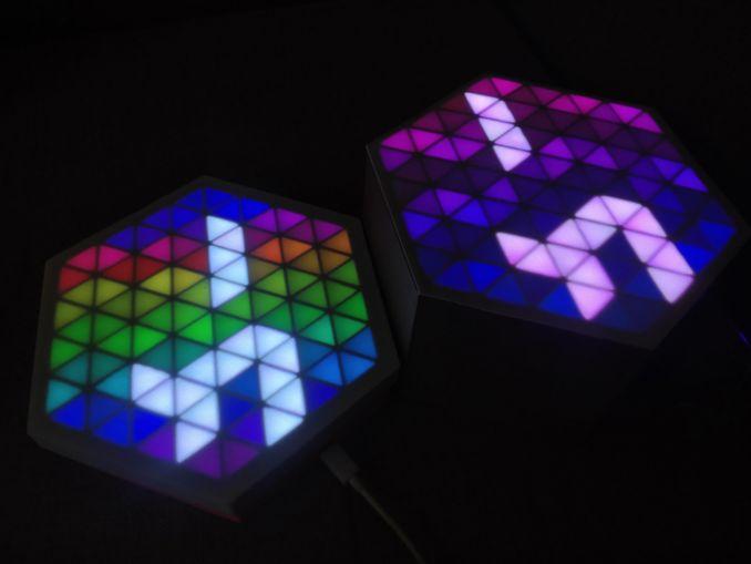 RGB HexMatrix 物联网时钟 2.0