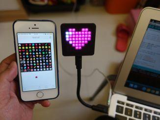 心情不错,制造一款 IoT Emoji 标牌