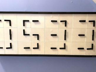 纯机械装置模拟数字时钟