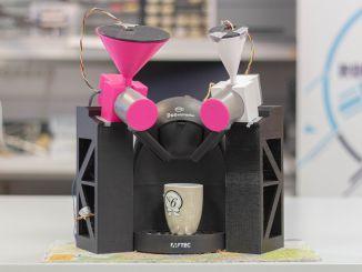 K-Fee:支持远程控制冲泡的咖啡机