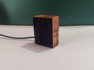 手工 DIY 火柴盒大小的木质蓝牙音箱