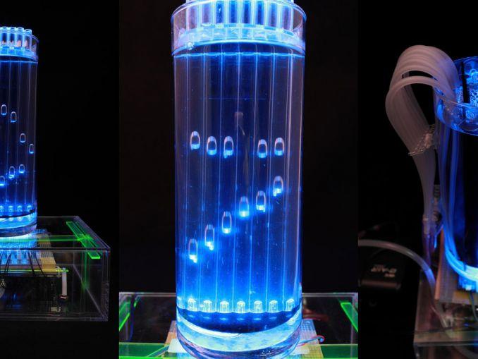 感受时光的流动:制造一台水中气泡时钟