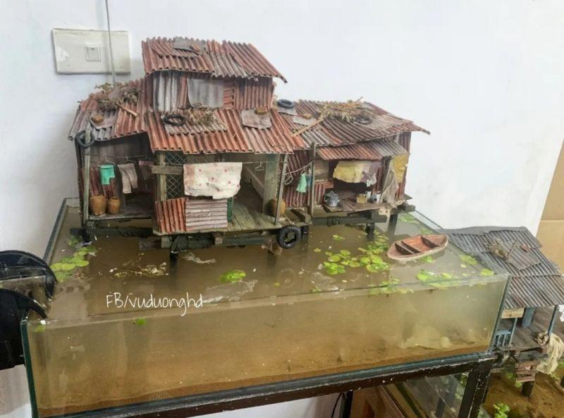 在书房造一栋渔村风格的高脚屋